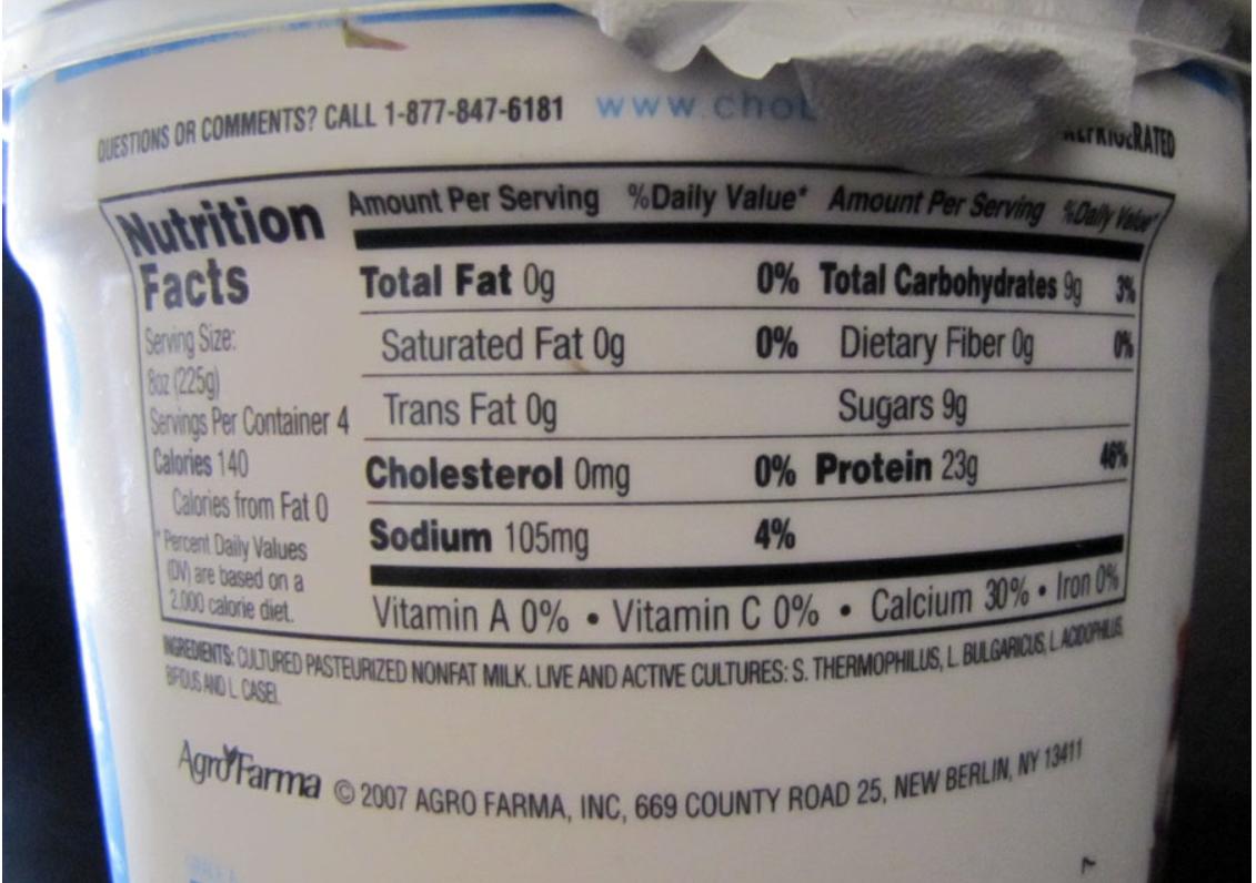 how to select a yogurt | tucson bariatric