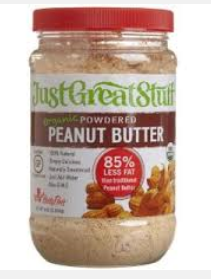 Powdered peanut butter the right kind of peanut butter for 8 tablespoons of butter