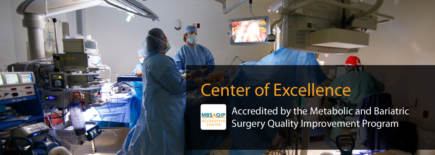 Center of Excellence for Bariatric Surgery